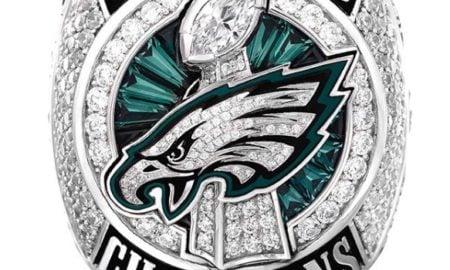 Anel de campeão do Super Bowl LII - Philadelphia Eagles