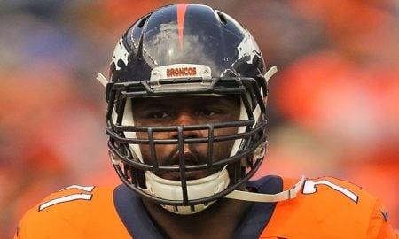 Donald Stephenson, offensive lineman do Denver Broncos