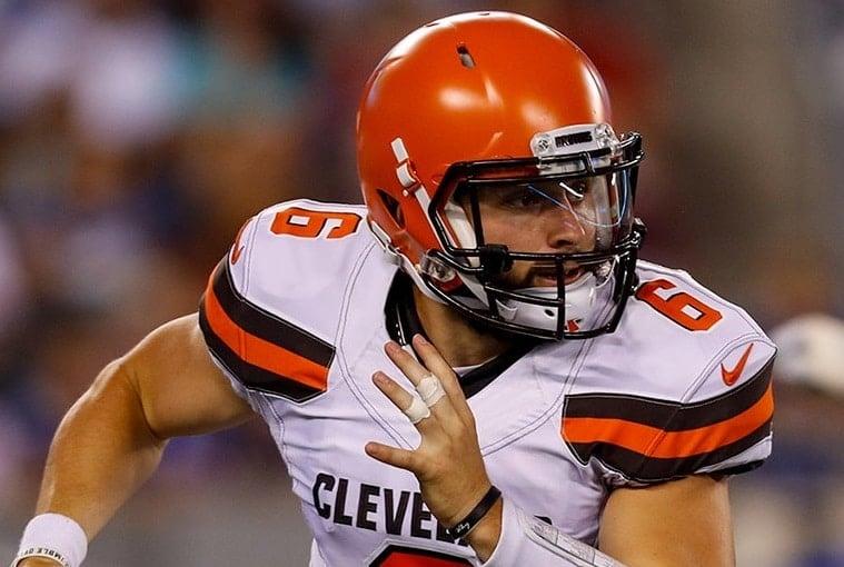 Baker Mayfield, quarterback calouro do Cleveland Browns