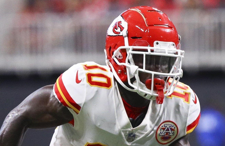 Tyreek Hill, wide receiver do Kansas City Chiefs