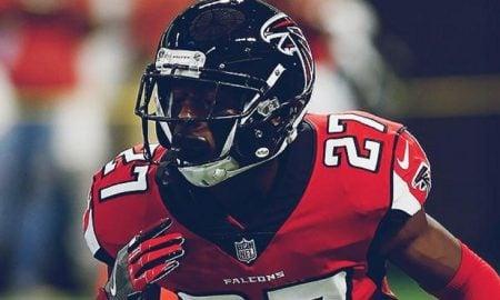Damontae Kazee, safety do Atlanta Falcons