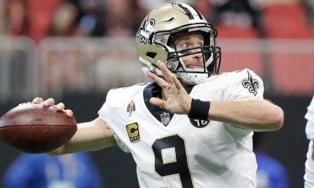 Drew Brees, quarterback do New Orleans Saints