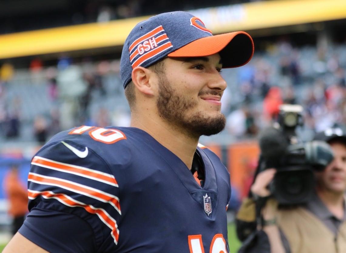 Mitchell Trubisky, quarterback do Chicago Bears