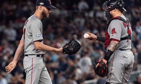 Chris Sale, arremessador dos Red Sox