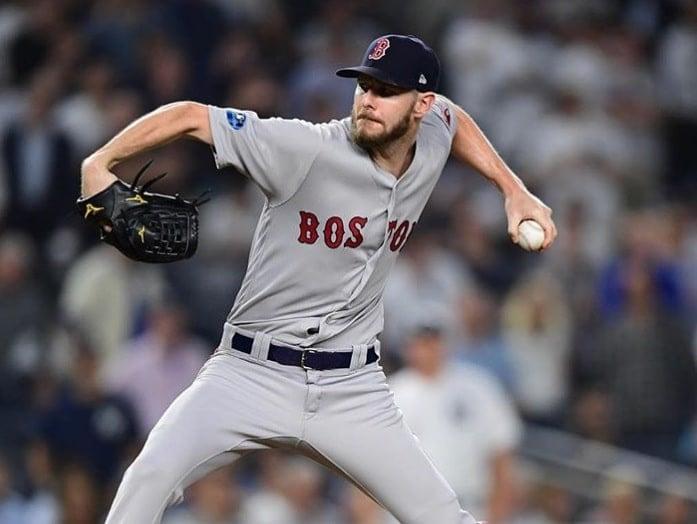 Chris Sale, arremessador do Boston Red Sox
