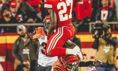 Kareem Hunt, running back do Kansas City Chiefs