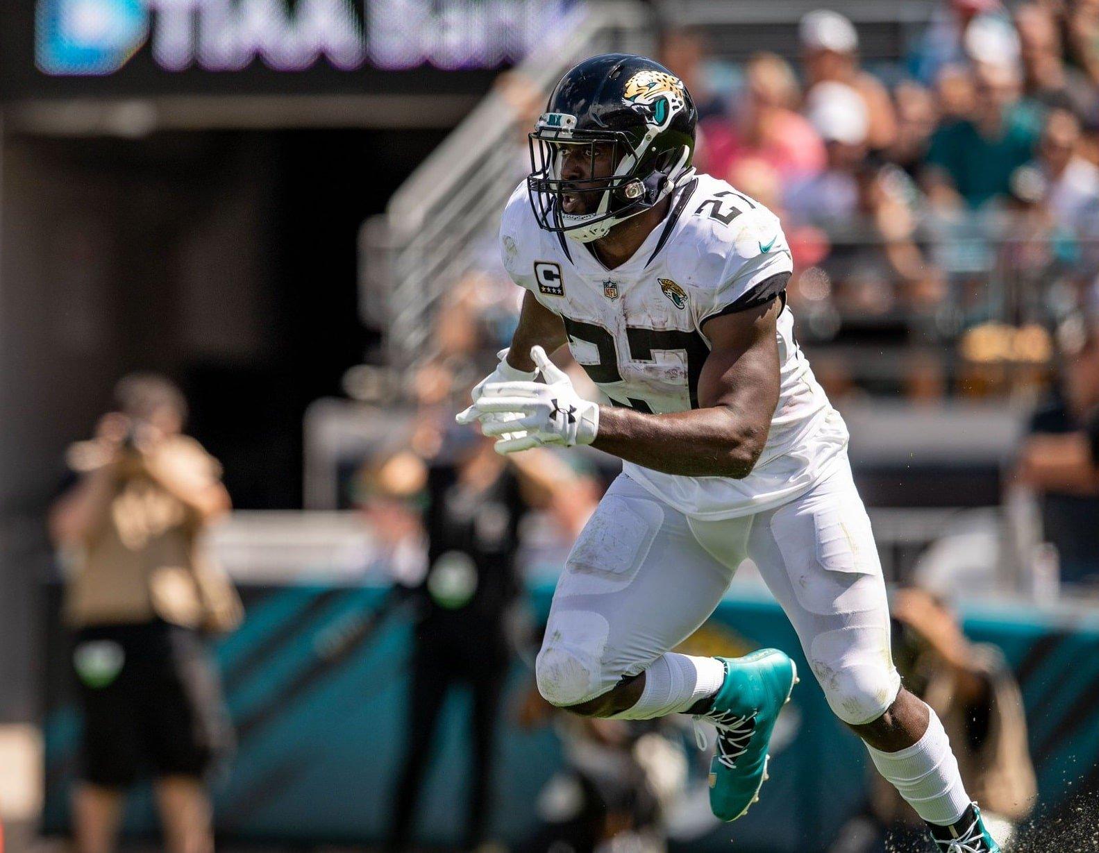 Leonard Fournette, running back do Jacksonville Jaguars