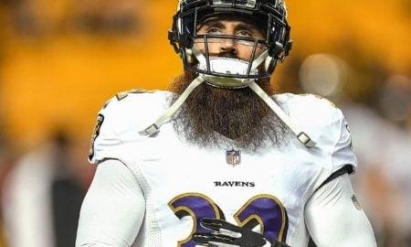 Eric Weddle, safety do Baltimore Ravens