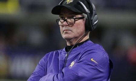 Mike Zimmer, técnico do Minnesota Vikings
