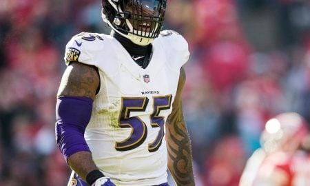 Terrell Suggs, linebacker do Baltimore Ravens