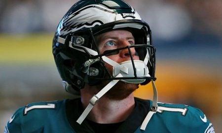 Carson Wentz, quarterback do Philadelphia Eagles