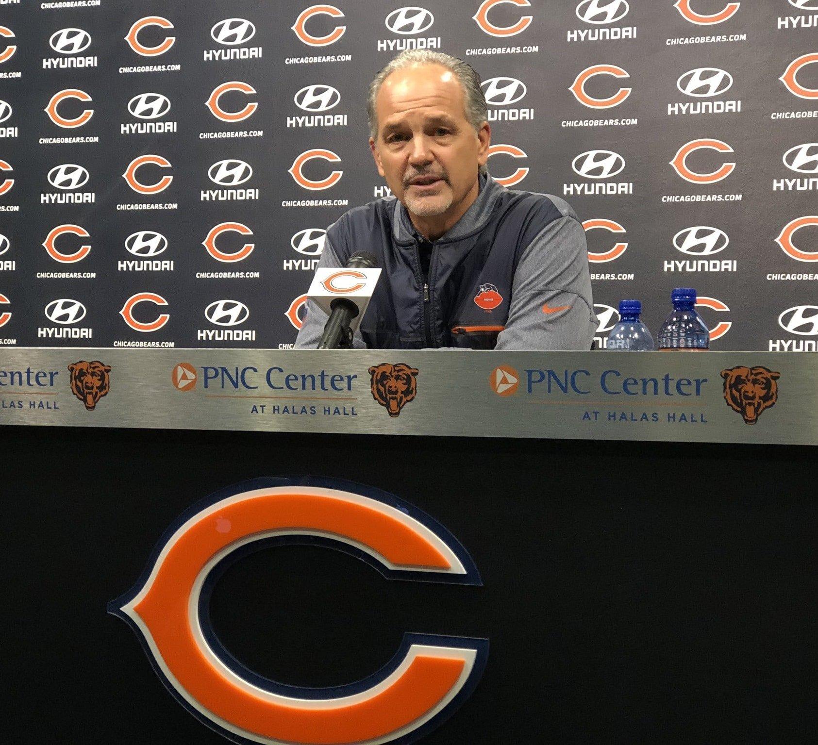 Chuck Pagano, coordenador defensivo do Chicago Bears