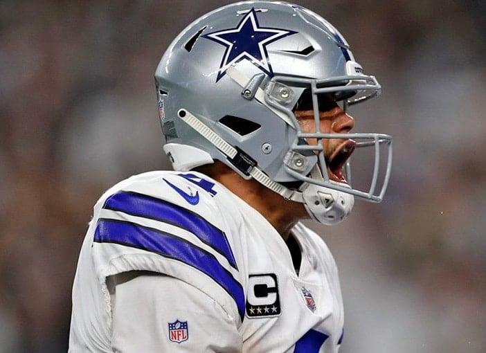 Dak Prescott, quarterback do Dallas Cowboys