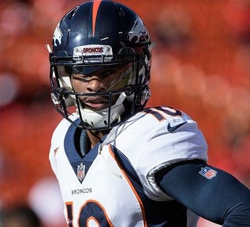 Emmanuel Sanders, wide receiver da NFL