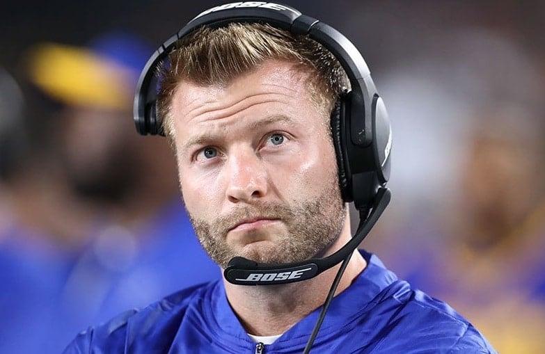 Sean McVay, técnico do Los Angeles Rams