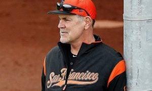 Bruce Bochy, manager do San Francisco Giants