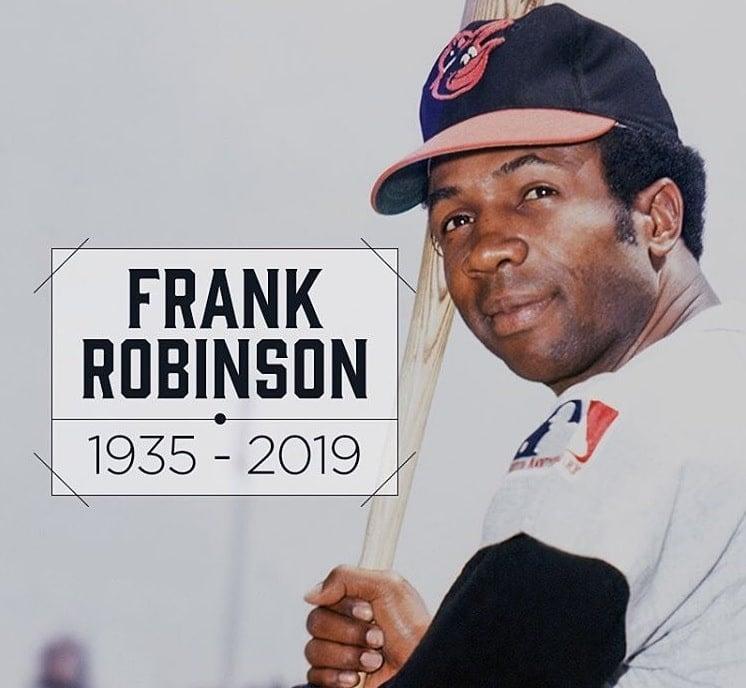 Frank Robinson, Hall of Famer primeiro manager negro da MLB