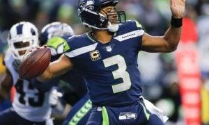 Russell Wilson, quarterback do Seattle Seahawks