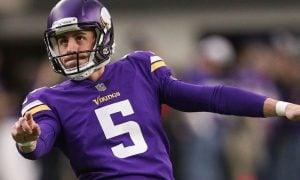 Dan Bailey, kicker do Minnesota Vikings