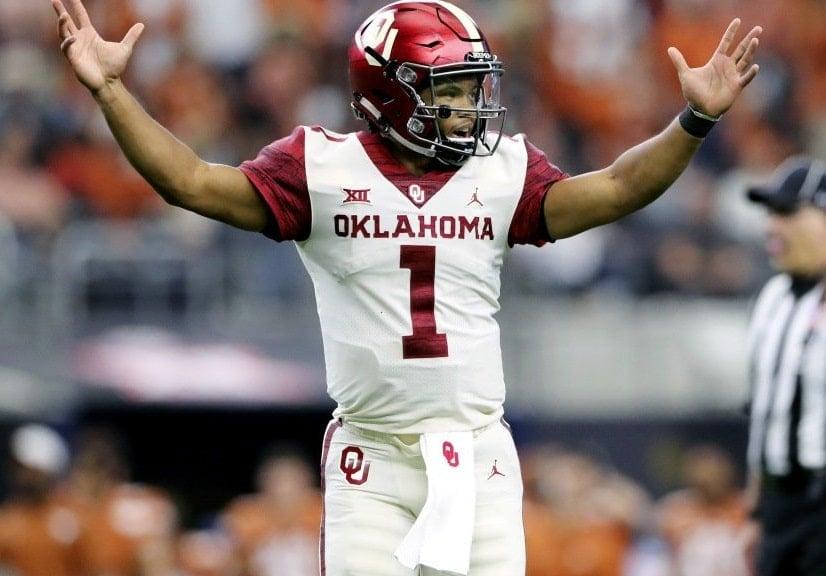 Kyler Murray, quarterback da Universidade de Oklahoma