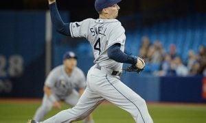Blake Snell, arremessador do Tampa Bay Rays