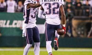 Devin McCourty e Jason McCourty, defensive backs do New England Patriots