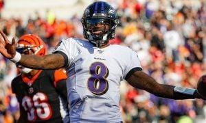 Lamar Jackson, quarterback do Baltimore Ravens