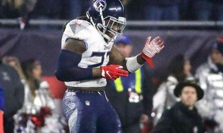 Derrick Henry, running back do Tennessee Titans