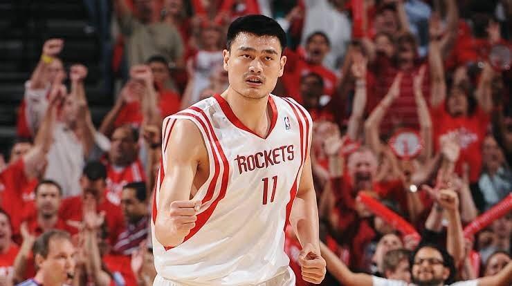 yao ming houston rockets