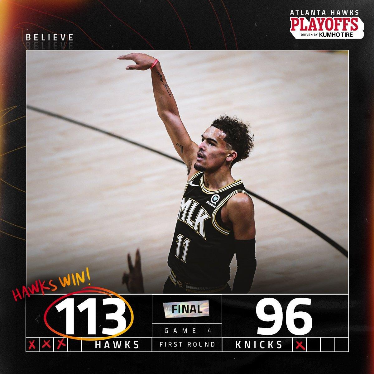 Hawks x Knicks como aconteceu – resultado, destaque e reação