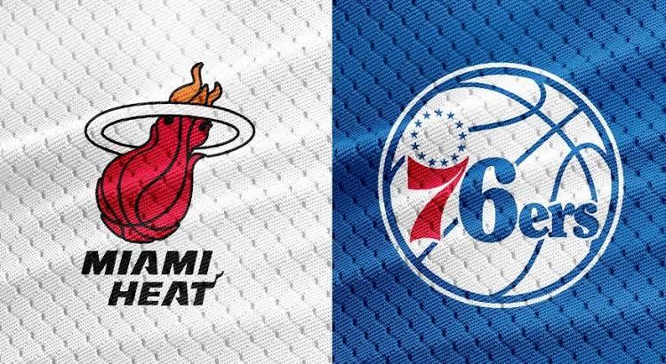 Miami Heat x Philadelphia 76ers (Foto: Reprodução)