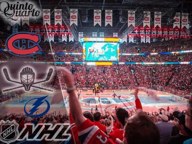 Montreal Canadiens x Tampa Bay Lightning