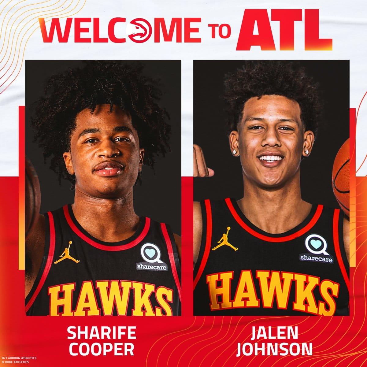 Conheça os novos jogadores do Atlanta Hawks