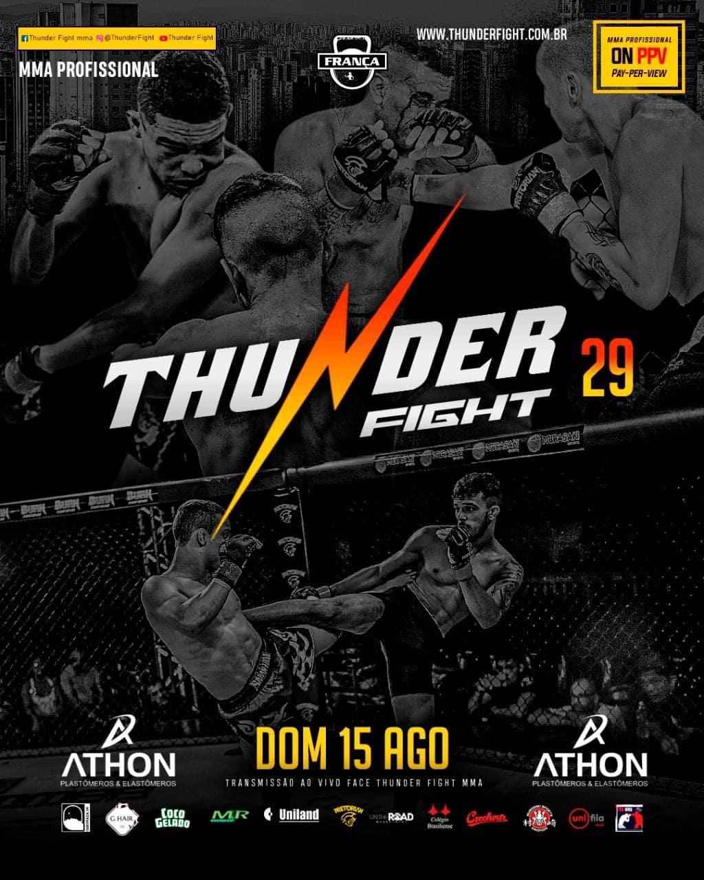 Inicialmente, faremos uma viagem no tempo para você conhecer um pouco sobre o Thunder Fight, essa grande companhia onde já passaram grandes lutadores