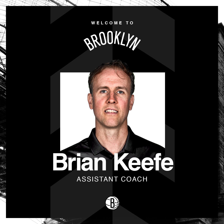 Nets anuncia Brian Keef como novo assistente técnico