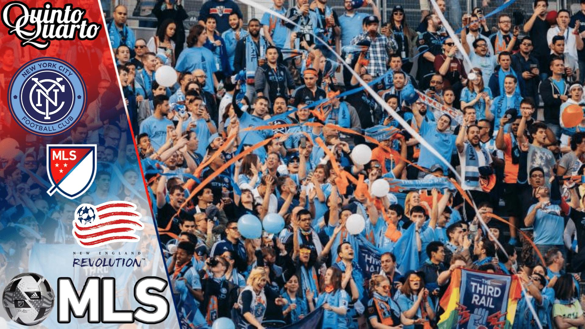 New York City FC x New England Revolution