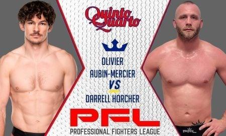 Olivier Aubin-Mercier vs. Darrell Horcher