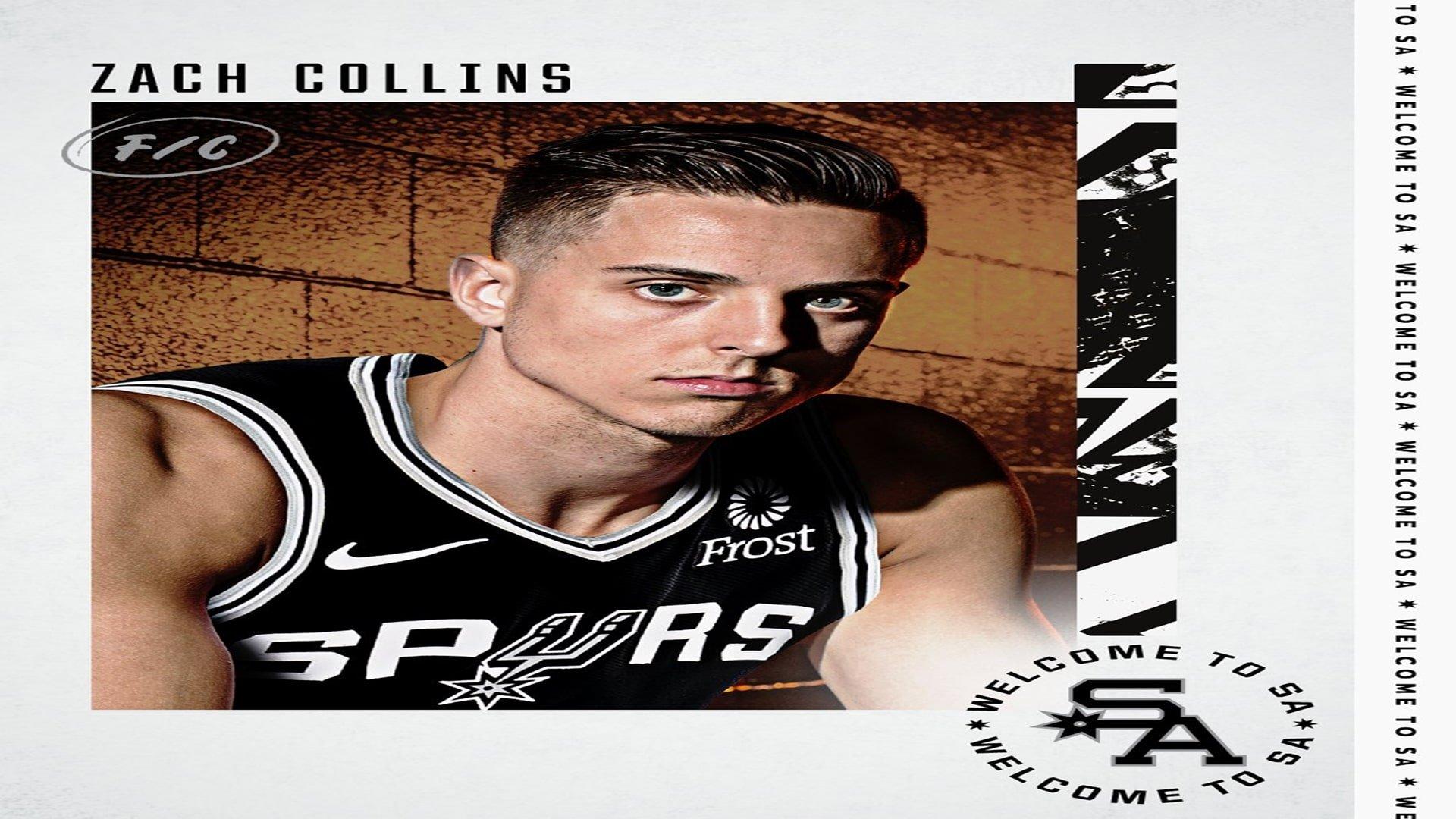 Zach Collins, Doug McDermott e Josh Primo são anunciados pelo San Antonio Spurs