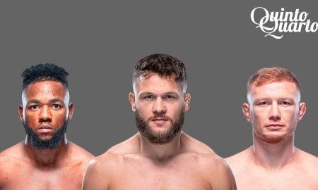 Três talentos UFC 265