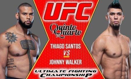 Thiago Santos x Johnny Walker