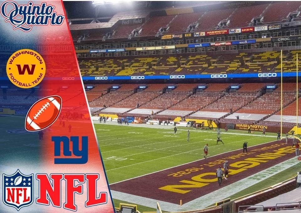 Washington Football Team x New York Giants