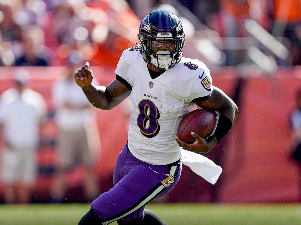 Broncos x Ravens